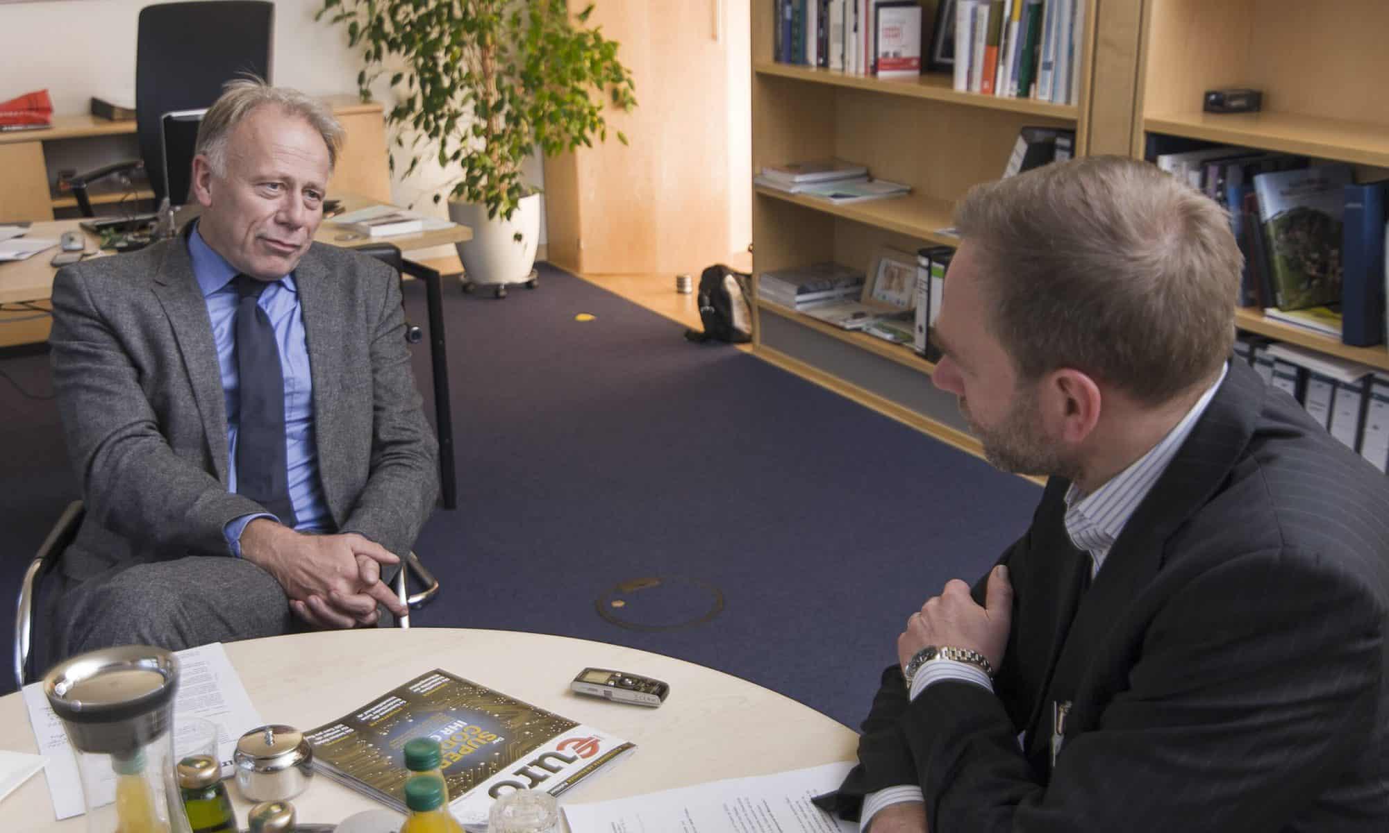 Mario Müller-Dofel interviewt Jürgen Trittin
